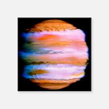 "Effect on Jupiter's atmosph Square Sticker 3"" x 3"""