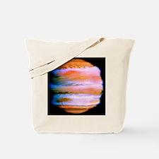 Effect on Jupiter's atmosphere of comet i Tote Bag