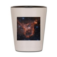 Emission nebula IC 1805 Shot Glass