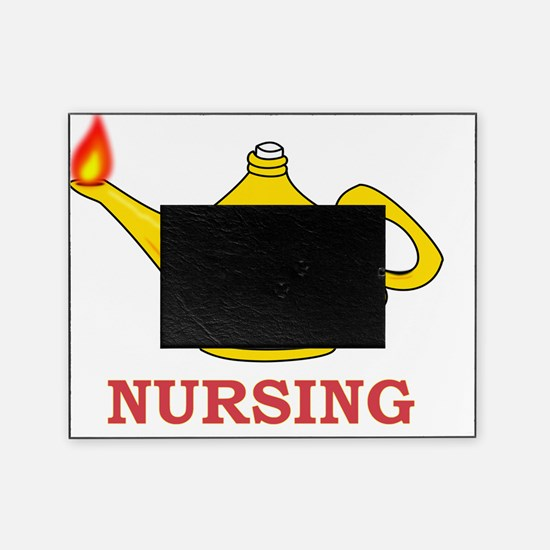 Nursing Lamp with Nursing Text Picture Frame