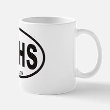 Memphis MPHS Euro Oval Sticker Mug