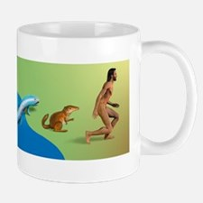 Evolution, conceptual artwork Mug