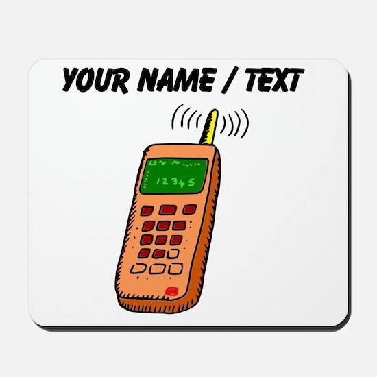 Custom Cartoon Cell Phone Mousepad