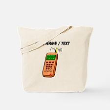 Custom Cartoon Cell Phone Tote Bag