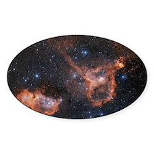Emission nebulae IC 1848 and IC 180 Decal