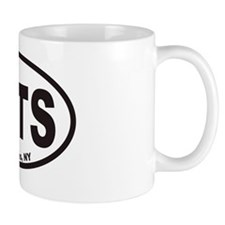 SKTS  Skaneateles Euro Oval Sticker Mug
