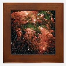 Eta Carinae nebula Framed Tile