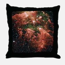 Eta Carinae nebula Throw Pillow