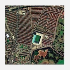 Everton's Goodison Park stadium, aeri Tile Coaster