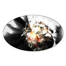 Exploding brain Decal