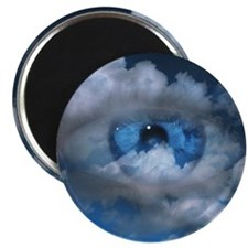 Eye and clouds Magnet