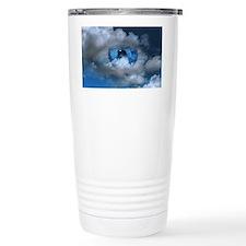 Eye and clouds Travel Mug