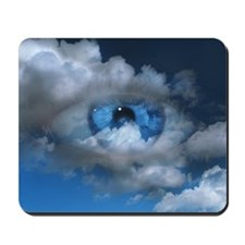 Eye and clouds Mousepad