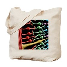 Eye retina Tote Bag