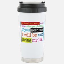Live My Life Stainless Steel Travel Mug