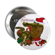 "Cajun Christmas 2.25"" Button"