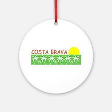 Costa Brava, Spain Ornament (Round)