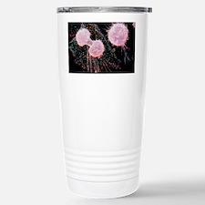 False-colour SEM of a mitotic c Travel Mug