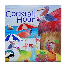 Cocktail Hour Tile Coaster