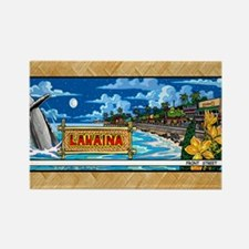 Lahaina, Mauis Famous Front Stree Rectangle Magnet