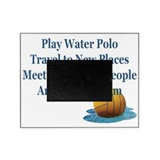 Play Water Polo Drown Em Blue Ball P Picture Frame