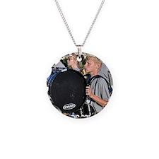jacobboshears_button Necklace Circle Charm