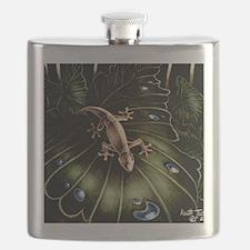 Thirsty Hawaiian Gecko Flask