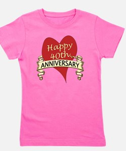 40th. anniversary Girl's Tee