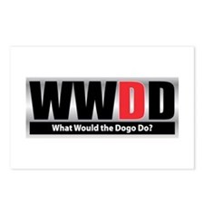 WW the Dogo D Postcards (Package of 8)