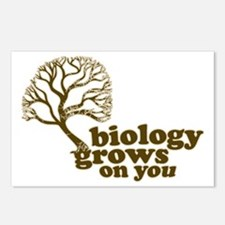biology grows on you Postcards (Package of 8)
