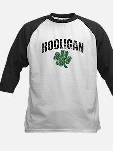 Hooligan Distressed Kids Baseball Jersey