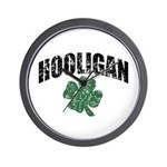 Hooligan Distressed Wall Clock
