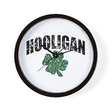 Hooligan Distressed Wall Clock