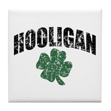 Hooligan Distressed Tile Coaster