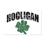 Hooligan Distressed Mini Poster Print