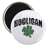 Hooligan Distressed Magnet