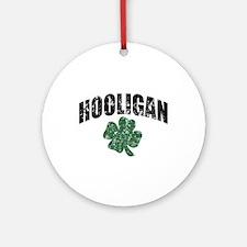 Hooligan Distressed Ornament (Round)