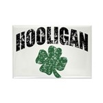 Hooligan Distressed Rectangle Magnet