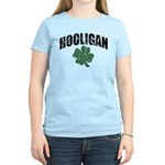 Hooligan Distressed Women's Light T-Shirt