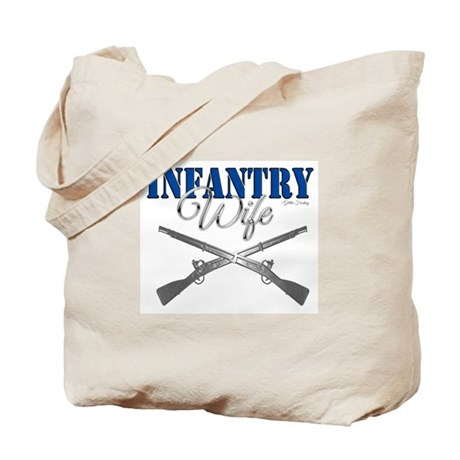 Infantry Wife Symbol Tote Bag