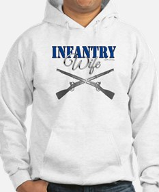 Infantry Wife Symbol Jumper Hoody