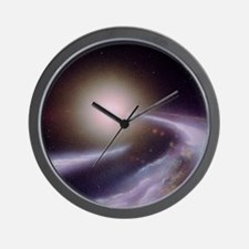 Formation of a new star Wall Clock