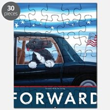 Forward with Bo, the 1st Dog Puzzle
