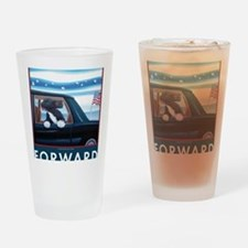 Forward with Bo, the 1st Dog Drinking Glass