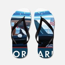 Forward with Bo, the 1st Dog Flip Flops