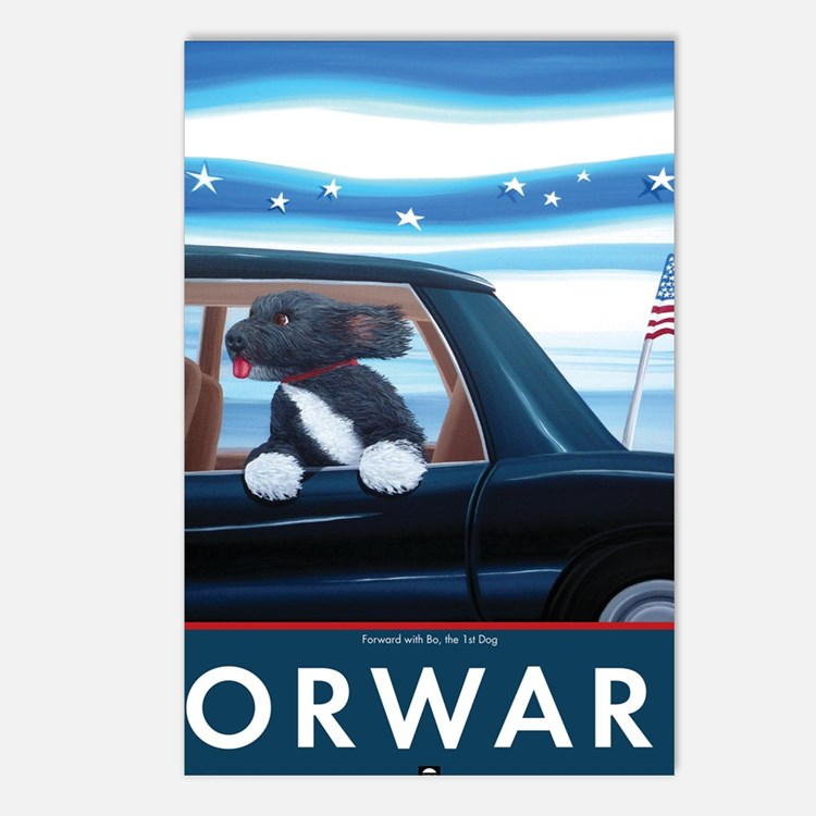 Forward with Bo, the 1st  Postcards (Package of 8)