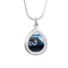 Forward with Bo, the 1st Silver Teardrop Necklace