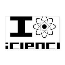 science Rectangle Car Magnet