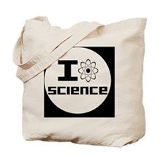 lovesciencebutton Tote Bag
