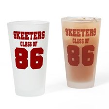 MHS Class Of 1986 Drinking Glass